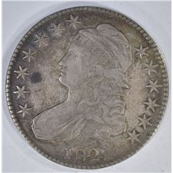 1821 CAPPED BUST HALF DOLLAR  VF