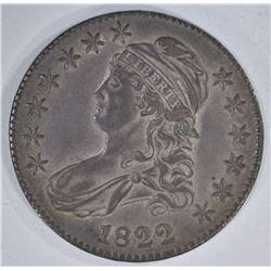 1822 CAPPED BUST HALF DOLLAR  XF+