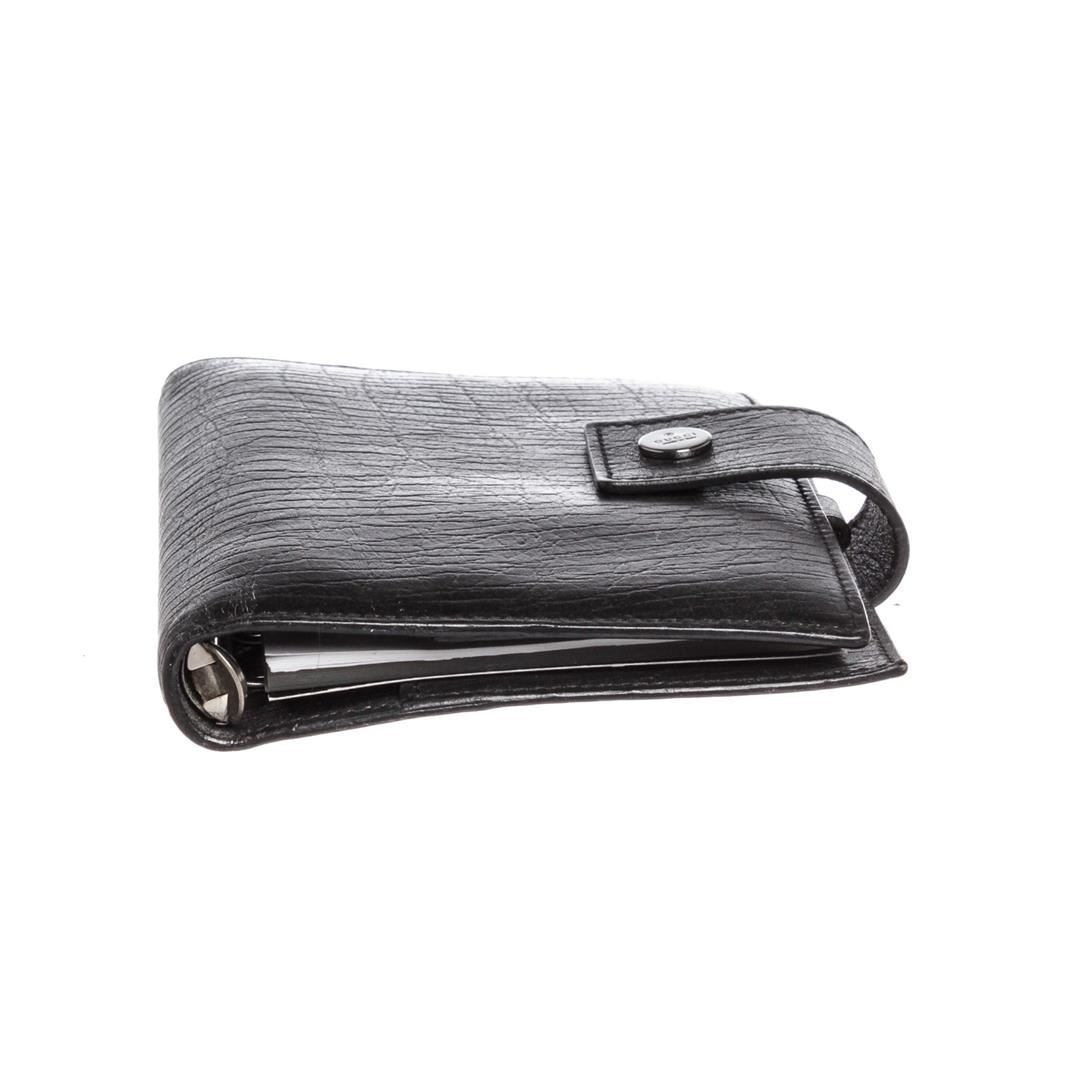 d584727f0 ... Image 7   Gucci Black Textured Leather Small Agenda Cover ...
