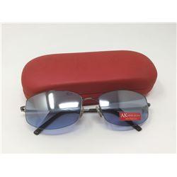 AK Anne Klein UV Protection Glasses w/ Case