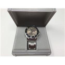 Azur Men's Quartz S.S Wrist Watch