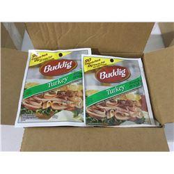 Case of BuddigSmoked Sliced Turkey(12 x 55g)