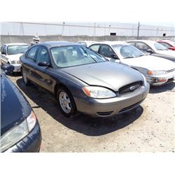 FORD TAURUS 2005 O/S T-DONATION