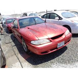 FORD MUSTANG GT 1997 T-DONATION