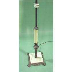 Art Deco Jadeite Floor Lamp