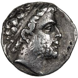 MACEDONIAN KINGDOM: Phillip V, 221-179 BC, AR drachm (4.14g). F-VF