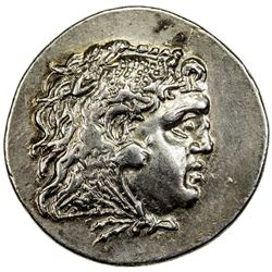 MESEMBRIA: AR tetradrachm (16.30g), ND (ca. 175-125 BC). VF