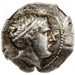 PAEONIAN KINGDOM: Patraos, ca. 340-315 BC, AR tetradrachm (12.95g). NGC VF