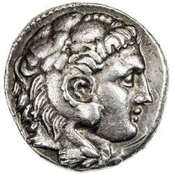 SELEUKID KINGDOM: Seleukos I Nikator, 312-280 BC, AR tetradrachm (15.95g), Ecbatana (Hamadan), ND. V