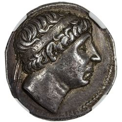 SELEUKID KINGDOM: Antiochos I Soter, 280-261 BC, AR tetradrachm (17.05g). NGC EF