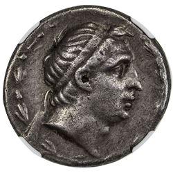 SELEUKID KINGDOM: Demetrios I Soter, 162-150 BC, AR tetradrachm (16.60g). NGC VF