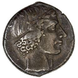 SICILY: Leontini: Anonymous, ca. 425-420 BC, AR tetradrachm (17.09g). VF