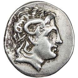 THRACIAN KINGDOM: Lysimachos, 323-281 BC, AR tetradrachm (15.50g). F-VF