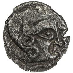 ARMORICAN: CORIOSOLITES: BI stater (6.39g), ca. 1st century BC. NGC VF