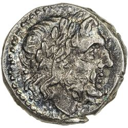 ROMAN REPUBLIC: Anonymous, before 211 BC, AR victoriatus (3.39g), Rome. EF