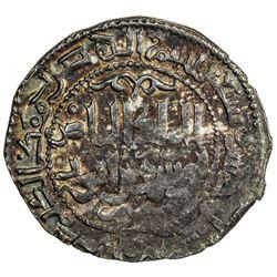 AYYUBID: al-Nasir Yusuf I (Saladin), 1169-1193, AR dirham (2.79g), Hamah, AH75 (for 575). VF-EF