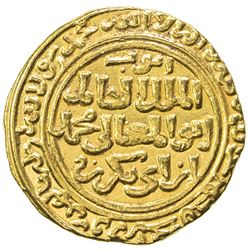 AYYUBID: al-Kamil Muhammad I, 1218-1238, AV dinar (6.05g), al-Qahira, AH627. EF