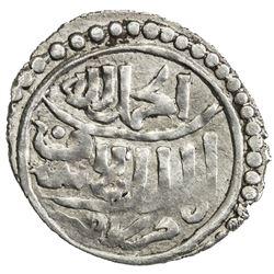 BAHRI MAMLUK: Sha'ban II, 1363-1376, AR akce (0.68g), Konya, ND. VF