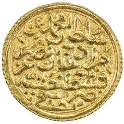 OTTOMAN EMPIRE: Mehmet II, 1451-1481, AV sultani (3.52g), Kostantiniye, AH883. EF-AU