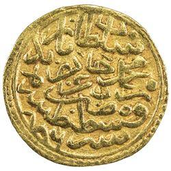 OTTOMAN EMPIRE: Bayezit II, 1481-1512, AV sultani (3.44g), Kostantiniye, AH886. EF-AU