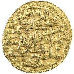 OTTOMAN EMPIRE: Selim I, 1512-1520, AV sultani (3.41g), Amid, AH918. VF-EF