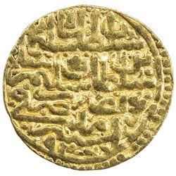 OTTOMAN EMPIRE: Suleyman I, 1520-1566, AV sultani (3.36g), Amid, AH926. VF