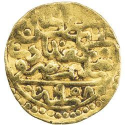 OTTOMAN EMPIRE: Suleyman I, 1520-1566, AV sultani (3.50g), Baghdad, AH958. VF