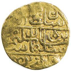 OTTOMAN EMPIRE: Suleyman I, 1520-1566, AV sultani (3.39g), Baghdad, AH960. VF