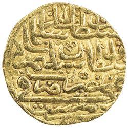 OTTOMAN EMPIRE: Suleyman I, 1520-1566, AV sultani (3.45g), Dimashq, AH926. VF