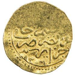 OTTOMAN EMPIRE: Suleyman I, 1520-1566, AV sultani (3.46g), Jaza'ir (Algiers), AH926. VF-EF