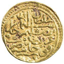 OTTOMAN EMPIRE: Suleyman I, 1520-1566, AV sultani (3.45g), Kocaniye, AH926. VF-EF