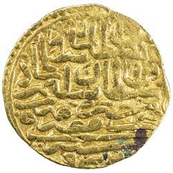 OTTOMAN EMPIRE: Suleyman I, 1520-1566, AV sultani (3.48g), Misr, AH932. VF