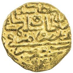 OTTOMAN EMPIRE: Suleyman I, 1520-1566, AV sultani (3.48g), Misr, AH941. VF-EF