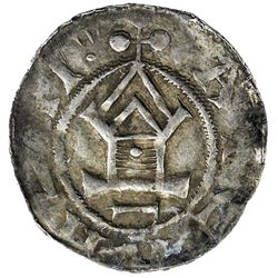 HOLY ROMAN EMPIRE: Otto Adelheid, 983-991, AR pfennige (1.28g). VF