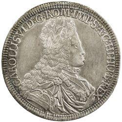 AUSTRIA: Karl VI, 1711-1740, AR thaler, 1716. EF