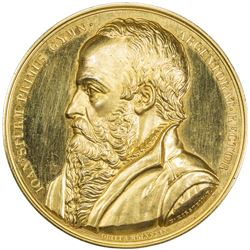 FRANCE: AE medal (56.14g), 1838. PF