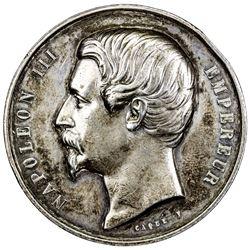 FRANCE: AR medal (63.33g), 1856. EF