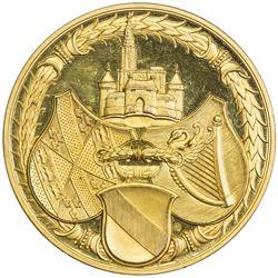 FRANCE: AE medal (58.69g), 1891. PF