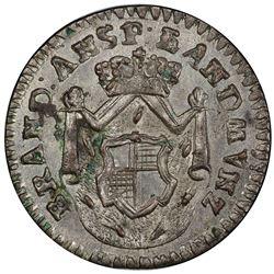 BRANDENBURG-ANSBACH: Alexander, 1757-1791, AR kreuzer, 1790-S. PCGS MS63