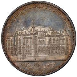 BREMEN: AR thaler, 1864-B. PCGS MS65