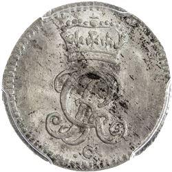 BRUNSWICK-CALENBERG-HANNOVER: Georg II August of England, 1727-1760, AR mariengroschen, 1751-C. PCGS