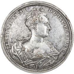 BRUNSWICK-WOLFENBUTTEL: AR medal (90.84g), 1725. VF-EF