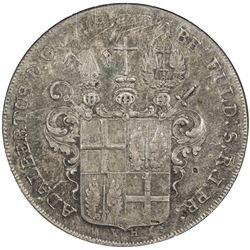 FULDA: Adalbert III von Harstall, 1788-1803, AR thaler, 1795. NGC AU58