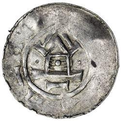 HILDESHEIM: Otto III, 983-1002, AR denar (1.08g). VF