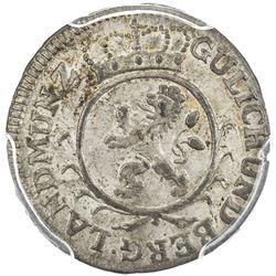 JULICH-BERG: AR stuber, 1765. PCGS MS64
