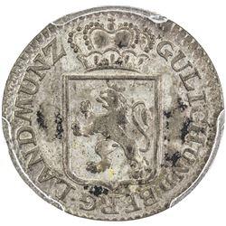 JULICH-BERG: AR 2 stuber, 1792. PCGS MS62