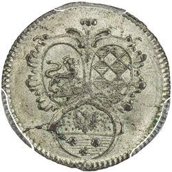 LOWENSTEIN-WERTHEIM-ROCHEFORT: AR kreuzer, 1799. PCGS MS64
