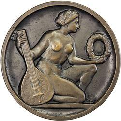 MUNICH: AE medal (89.51g), 1910. AU