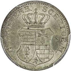 OLDENBURG: AR groschen, 1865-B. PCGS MS65