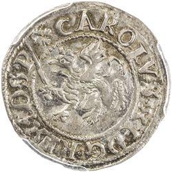 POMERANIA: AR doppel-schilling, 1670. PCGS MS62